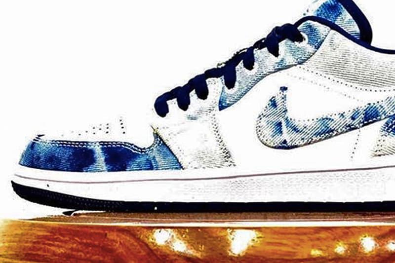 Air Jordan 1 Low 最新丹寧版本「Washed Denim」配色先行曝光