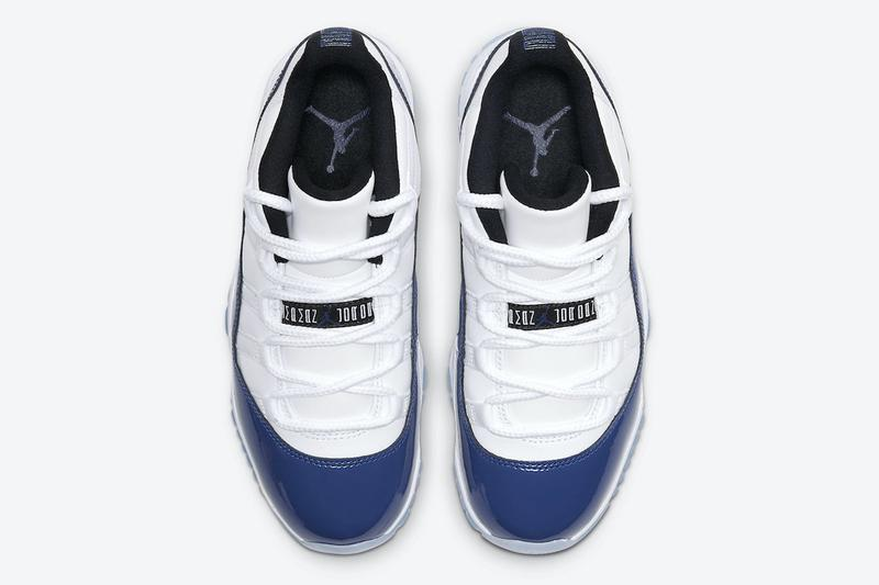 Air Jordan 11 Low 最新配色「Concord」官方發售情報公開