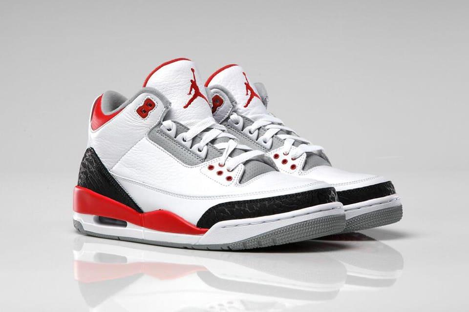 Air Jordan 3 人氣配色「Fire Red」將以全新