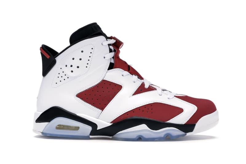 Air Jordan 6 經典配色「Carmine」復刻發售情報率先公開