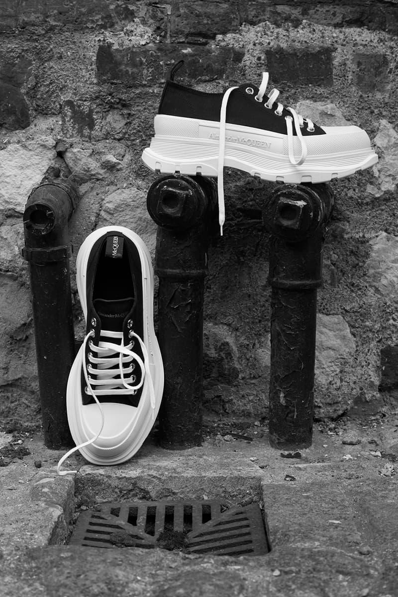 Alexander McQueen 推出第二彈 Tread Slick 運動鞋系列