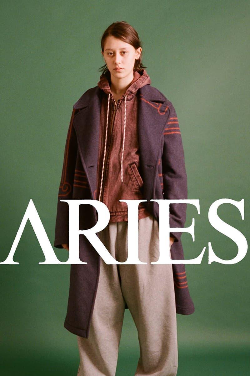 Aries 2020 秋冬系列 Lookbook 正式發佈