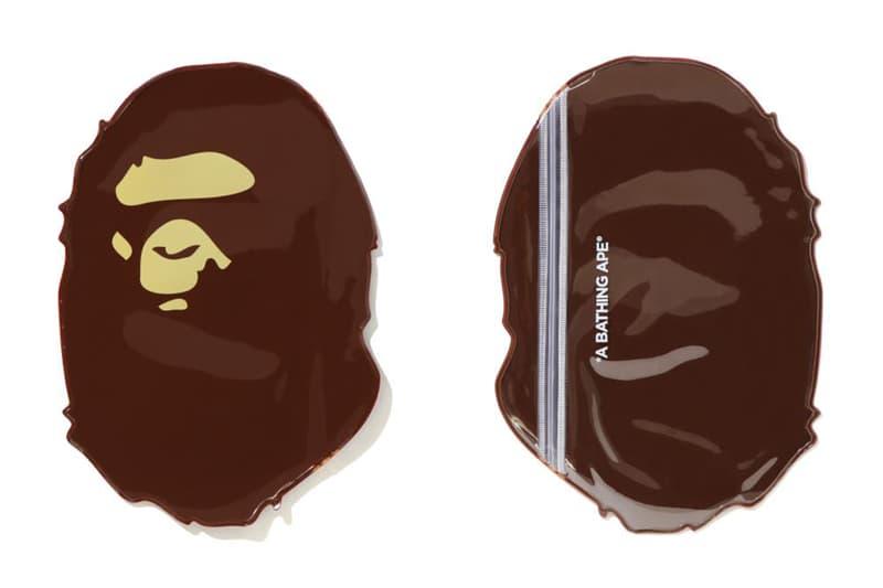 猿助抗疫 - A BATHING APE® 推出 PVC 造型口罩收納袋