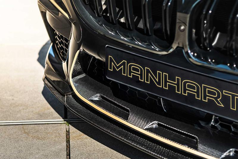 MANHART 打造 BMW M8 Competition Coupe 全新動力強化車型