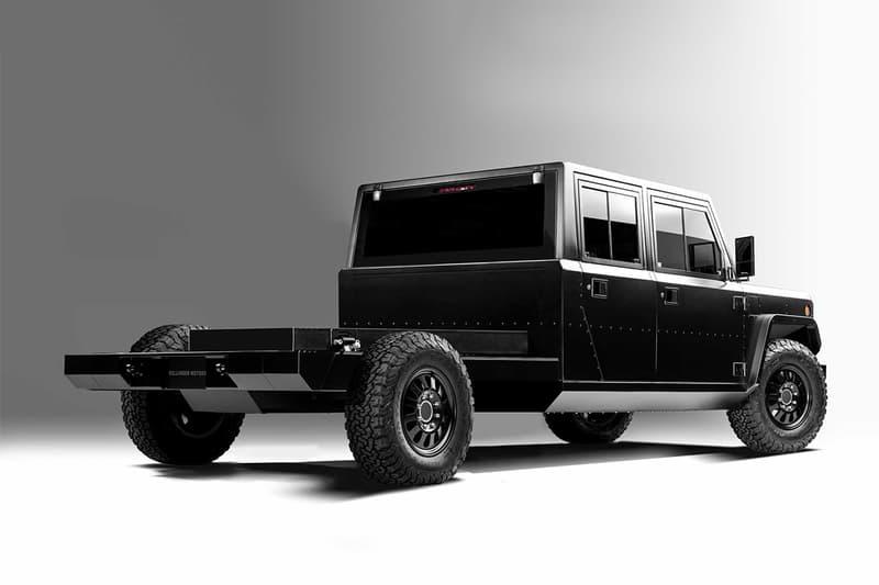 移動裝甲 − Bollinger 推出最新商用車型 B2 Chassis Cab