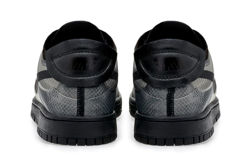 COMME des GARÇONS x Nike Dunk Low 最新聯名鞋款官方圖輯、發售情報正式公開