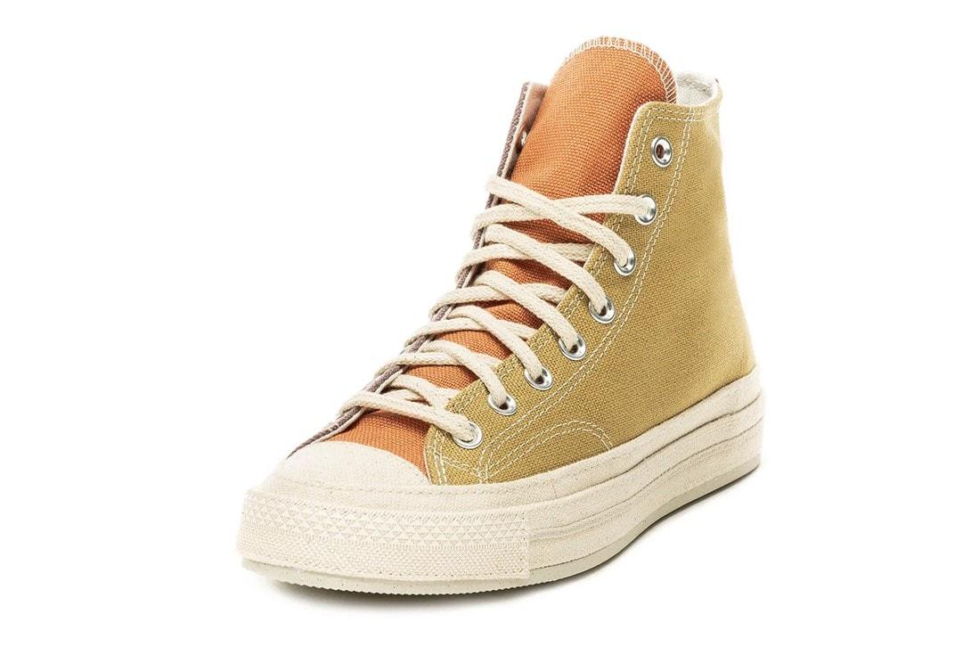 Converse 推出 Renew Canvas 系列最新 Chuck 70 拼接設計鞋款
