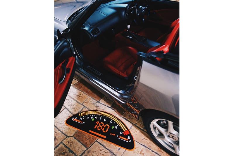COPAZE 推出 Honda S2000 儀錶版主題香精片及地氈