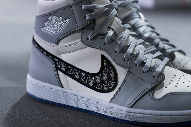 Daniel Arsham 率先開箱 Dior x Jordan Brand 限量版 Air Jordan 1 聯名球鞋