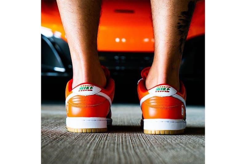 率先預覽 7-ELEVEN x Nike SB Dunk Low 實著圖輯