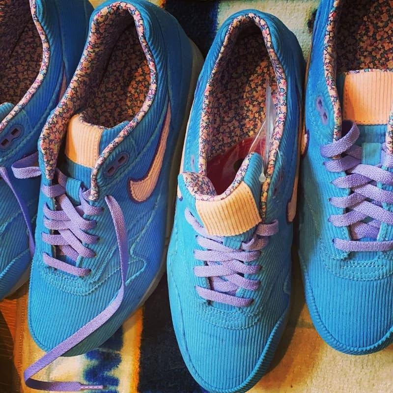 聯乘預告?!EDC 曝光全新 Nike Air Max 1「燈芯絨」鞋款