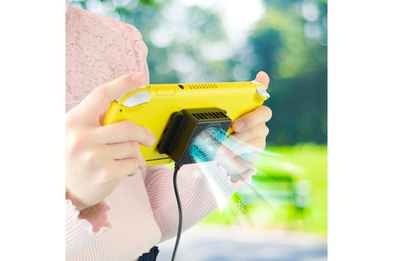 長期作戰-日本 Game Tech 為 Nintendo Switch 推出手提散熱器