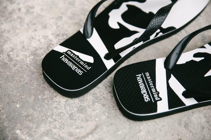 率先近賞 Havaianas 聯乘 mastermind JAPAN 拖鞋系列
