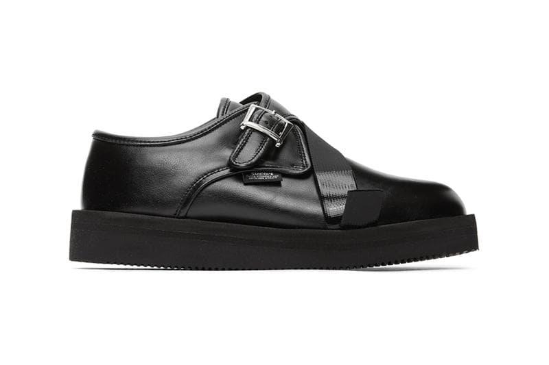 N.Hoolywood x Suicoke 聯手打造機能化 Monk Strap 皮鞋