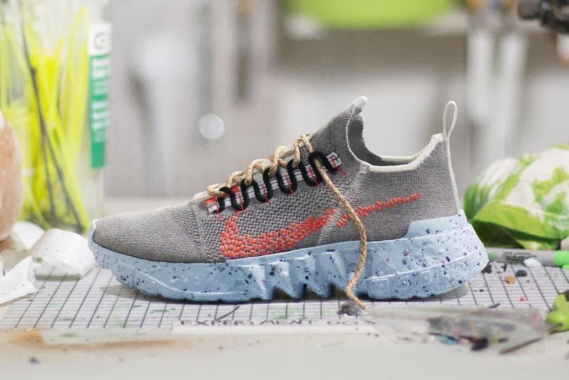 Nike 環保概念「Space Hippie」系列發售情報釋出