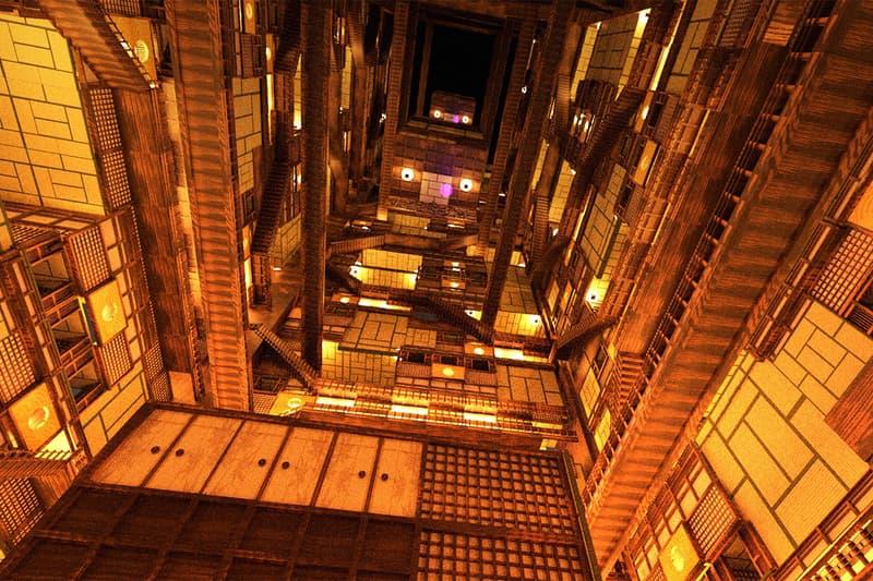 日本小學生運用繪圖軟體打造《鬼滅の刃》最終戰役「無限城」場景