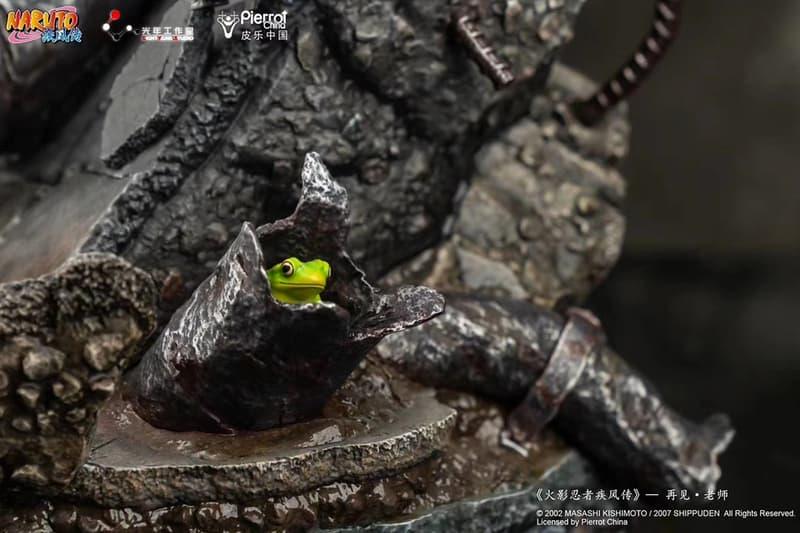 光年工作室推出《火影忍者》仙人模式自來也《再見,老師》1:4 場景雕像