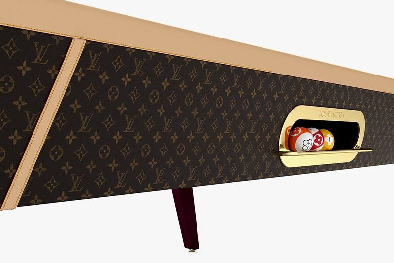 Louis Vuitton 推出全新奢華訂製撞球台