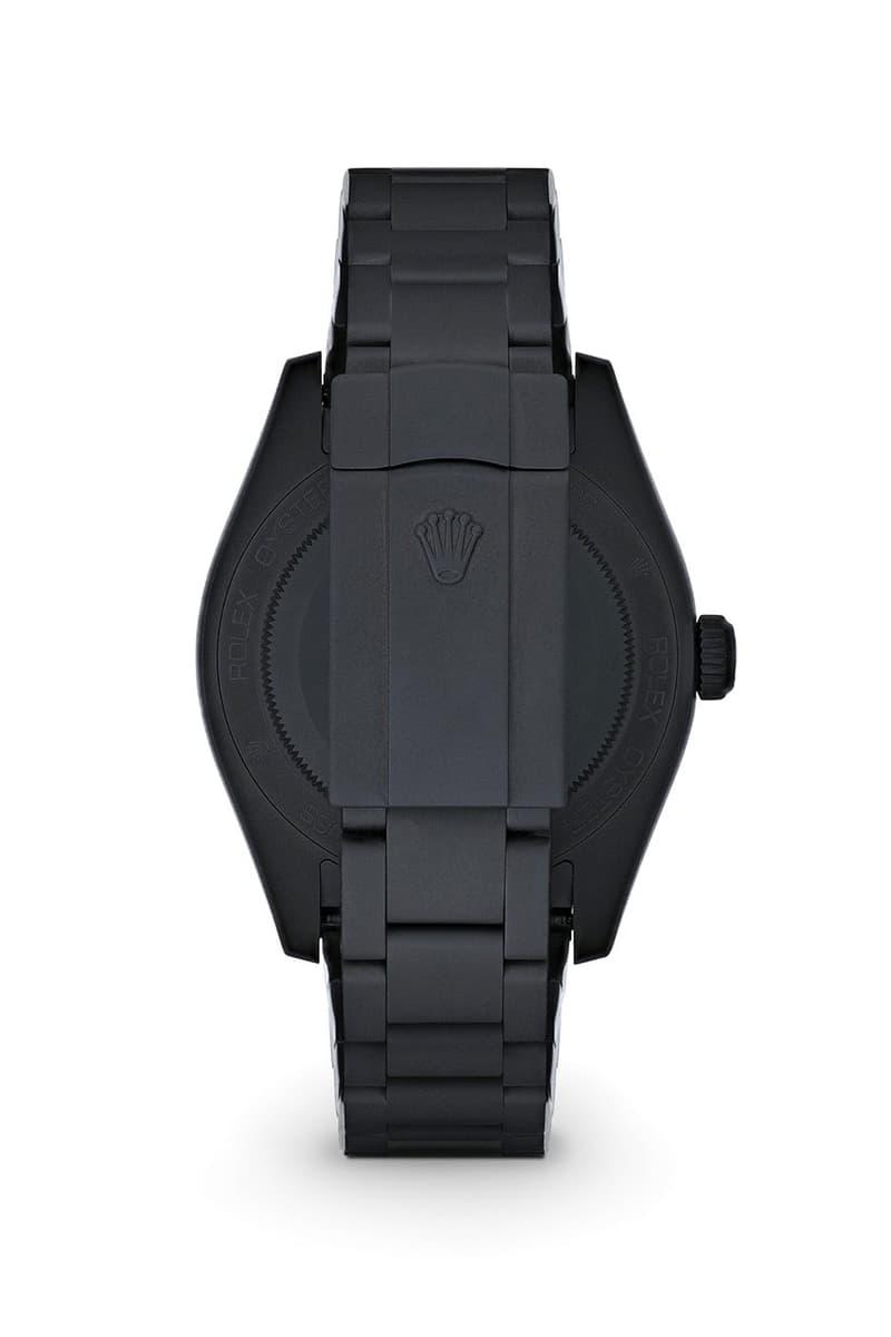 內斂之黑 − MAD Paris 打造 Rolex 全新 Sea-Dweller 和 Milgauss 定製腕錶