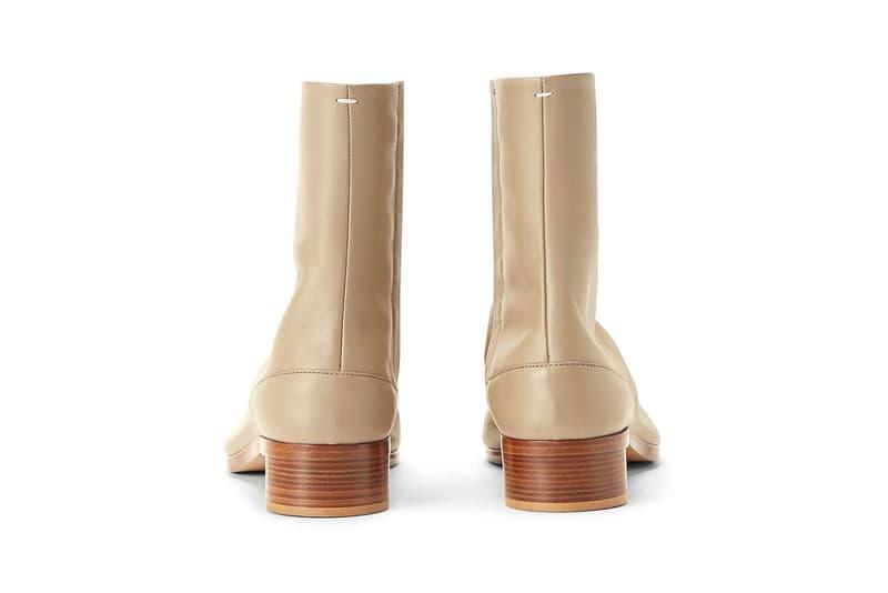 Maison Margiela 人氣靴款 Tabi Ankle Boot 迎來全新配色「Beige」