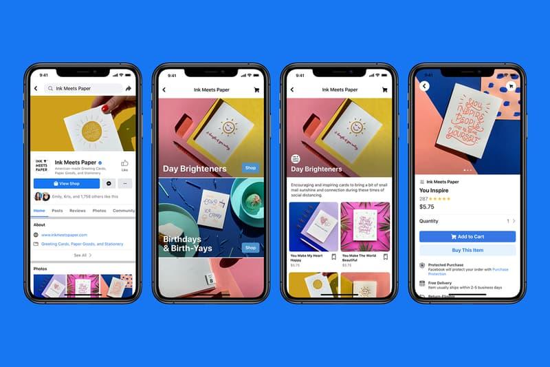 Mark Zuckerberg 正式宣佈推出「Facebook Shops」全新商城功能