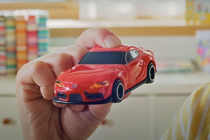 McDonald's 攜手 Toyota、Tomica 推出別注 Supra 模型車