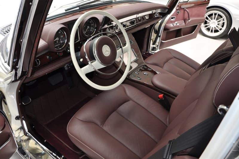 稀有 1975 年 Mercedes-Benz 豪華加長房車 Pullman 展開販售