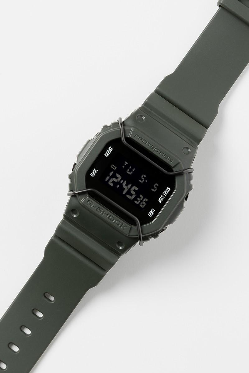 G-Shock x NEXUSVII 全新軍事風格 DW-5600 聯乘腕錶發佈