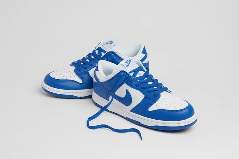 大熱鞋款 Nike Dunk Low 女性專屬配色率先曝光