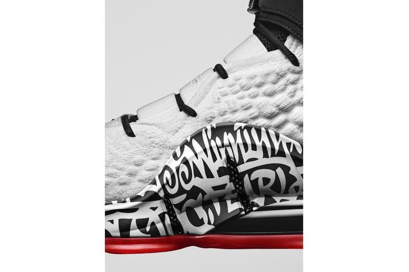 塗鴉與手寫元素!Nike LeBron 17 全新配色「Graffiti」正式發佈