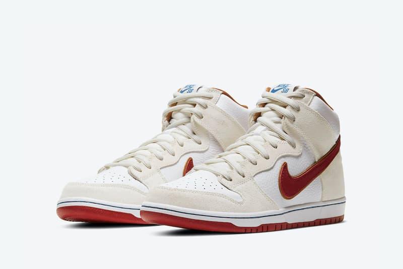 Nike SB 全新 Dunk Hi「Team Crimson」配色官方相片釋出