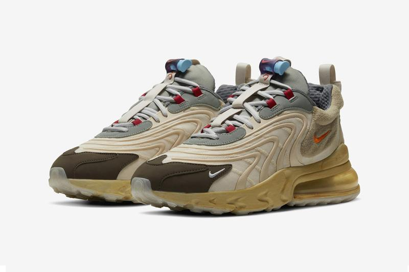 Travis Scott x Nike Air Max 270 React 聯乘鞋款港台發售情報