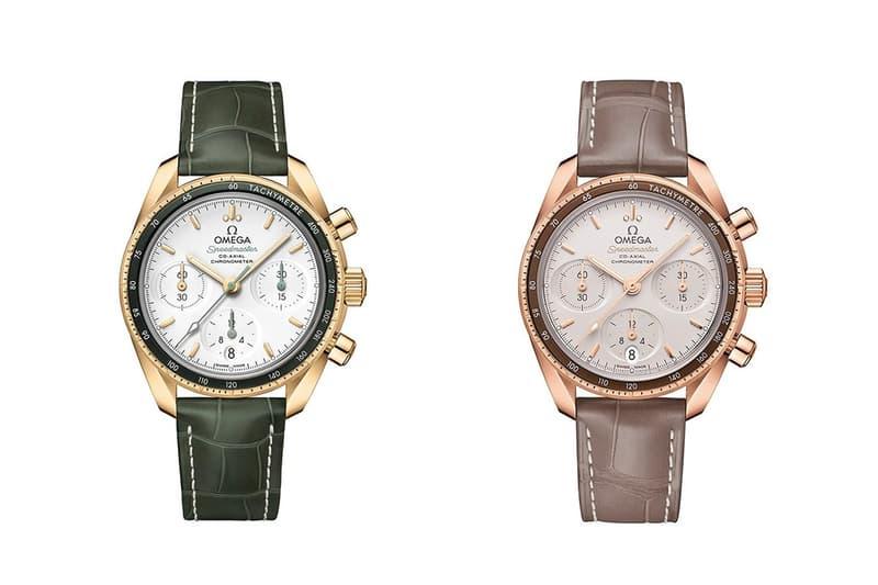 OMEGA 推出鑽石及貴金屬版本 Speedmaster 38mm 全新腕錶