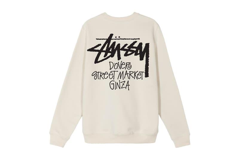 Stüssy 全新 Dover Street Market Ginza 獨佔系列完整品項全公開