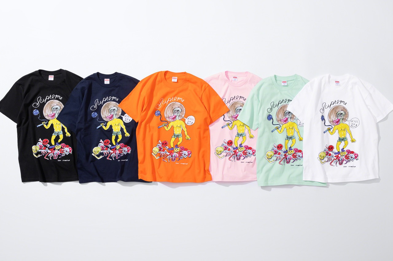 Supreme x Daniel Johnston 2020 春夏聯名系列