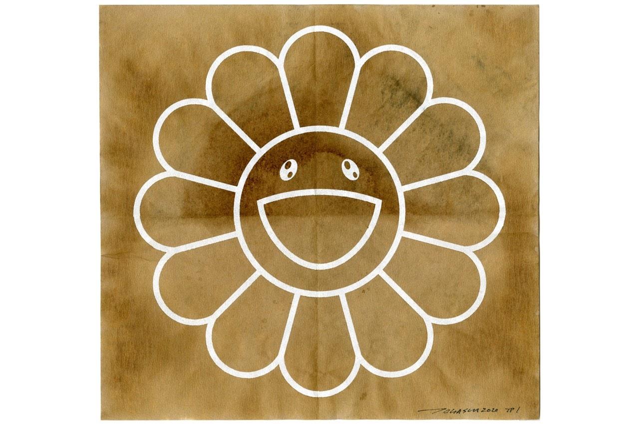 HYPEBEAST 獨家揭露村上隆如何使用「咖啡濾紙」製作 Kaikai Kiki Flower 小花水墨畫作