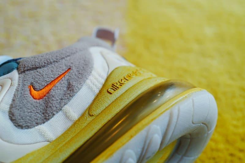 HYPEBEAST 率先近賞 Travis Scott x Nike Air Max 270 React 聯乘鞋款