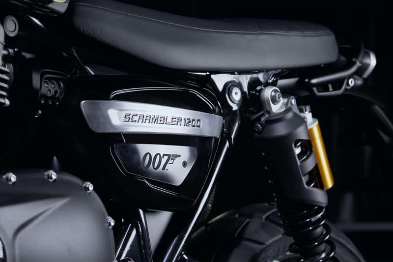 007 座駕 − Triumph 推出全球限量 250 輛 James Bond 別注電單車