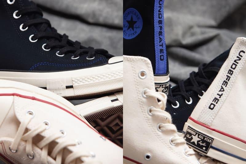 獨佔限定!UNDEFEATED x Converse 聯乘 Chuck 70 鞋款香港區發售情報(UPDATE)