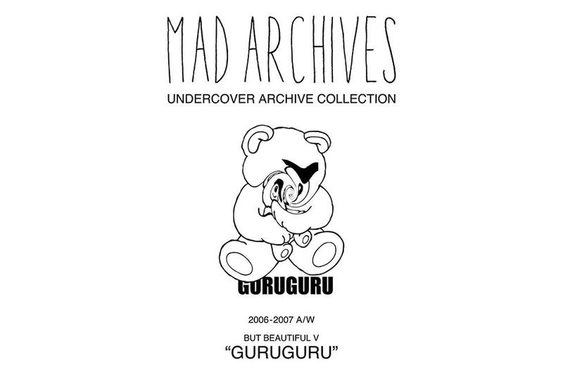 UNDERCOVER 全新 MAD ARCHIVES「GURUGURU」系列正式發佈