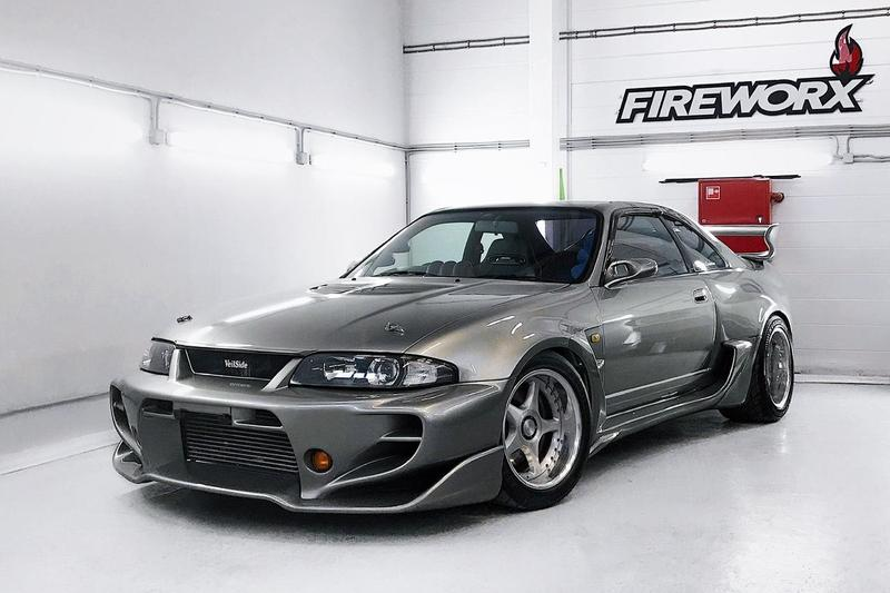 極罕有定製 1995 年 Nissan Skyline GT-R R33 Veilside Combat Evolution 開放出售
