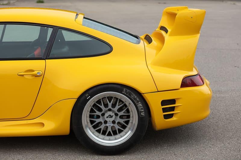 全球唯二 1997 年 Porsche 賽道用 RUF CTR2 Sport 即將進行拍賣