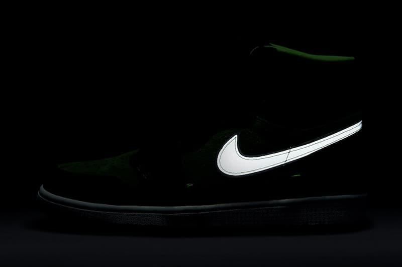 Air Jordan 1 High Zoom 全新「Rage Green」官方圖輯