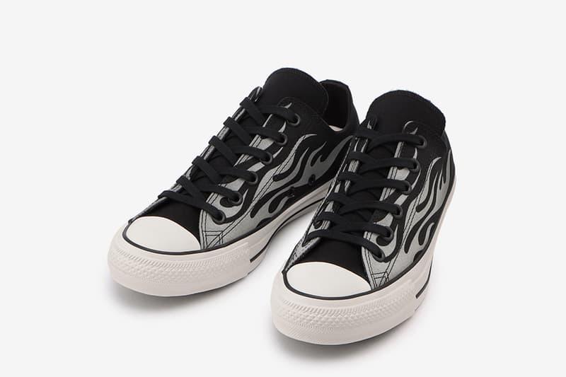 爆怒火焰-Converse 推出全新反光材質「IGNT」All Star 100 鞋款