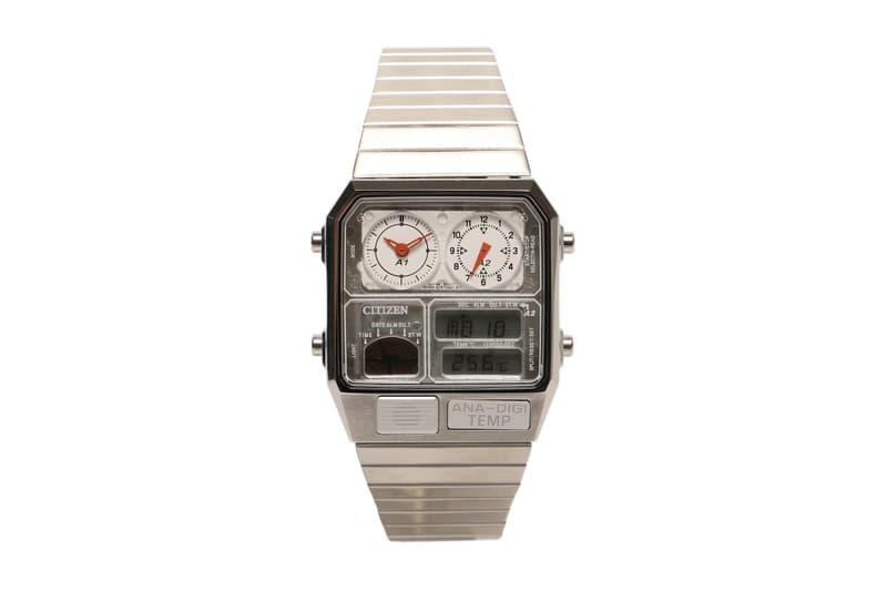 Citizen x BEAMS 別注「ANA-DIGI TEMP」手錶全新配色登場