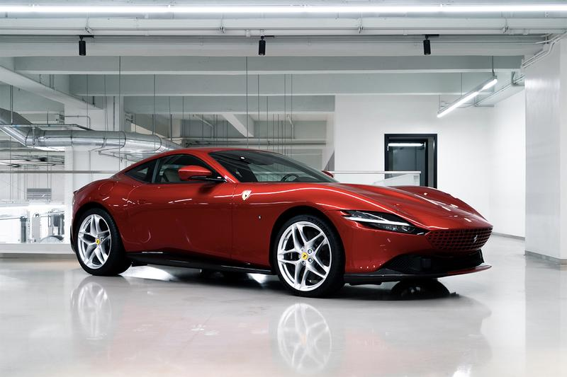 HYPEBEAST 近賞 Ferrari 全新 GT 超跑 Roma