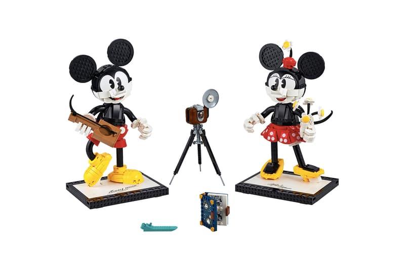 LEGO 推出組裝版 Mickey Mouse 及 Minnie Mouse 模型玩偶