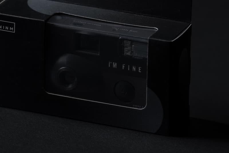 NINM Lab 推出「I'M FINE」黑白菲林單次用相機 DAWN