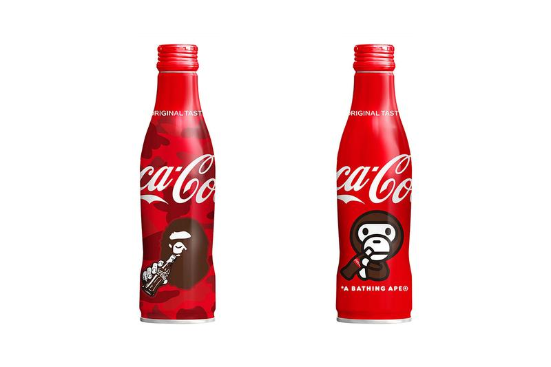 A BATHING APE® x Coca-Cola 聯乘鋁製可樂瓶香港區發售情報