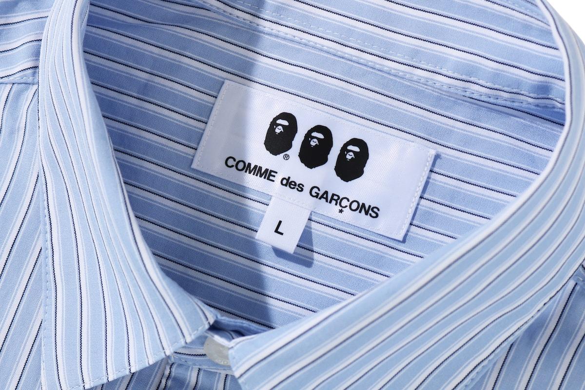A BATHING APE® x COMME des GARÇONS 限定聯乘企劃完整發佈